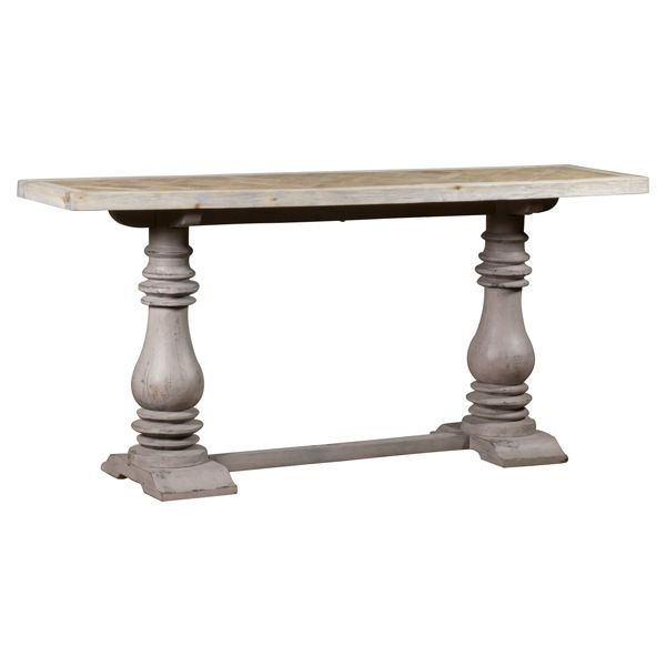 Normandy Console Grey Legs 180 x 55
