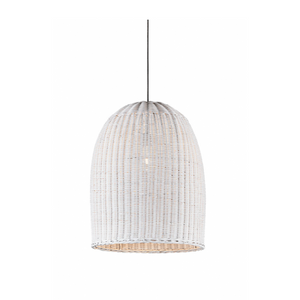 Bowerbird Hanging Lamp in White