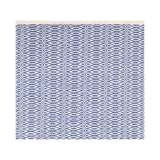 Fair Isle French Blue/Ivory Woven Cotton Rug