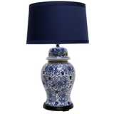 Blue and White Lampbase
