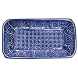 Blue and White Trays