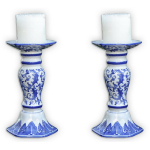 Pair Candle Holders