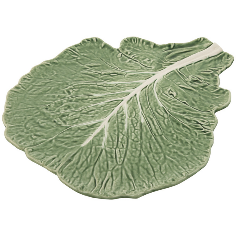 Cabbage Ware Cheese Plate