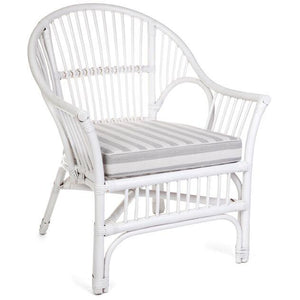 Euro Chair Solid White