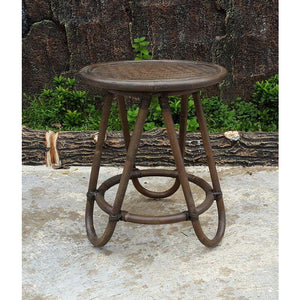 Rattan Round Table Small