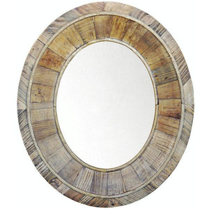PIA RECYCLED WOOD MIRROR