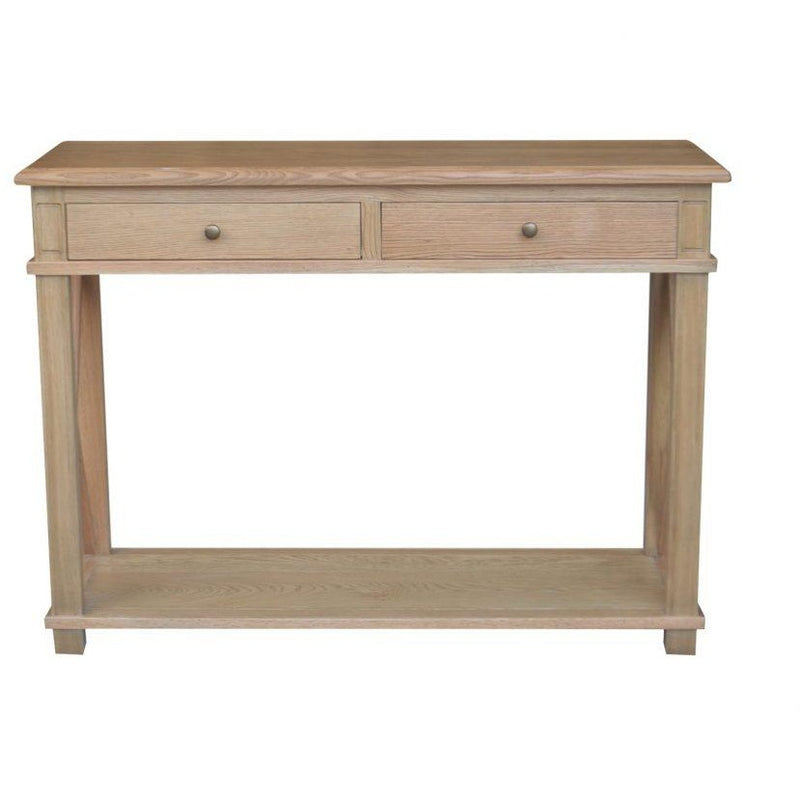 X BRACE CONSOLE TABLE SMALL