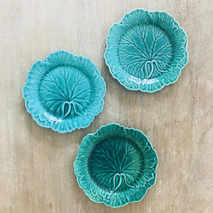 Green Wedgwood Plate with chip