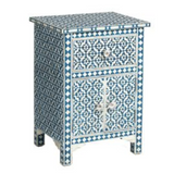 Bone Inlay Side Cabinet - Wallpaper