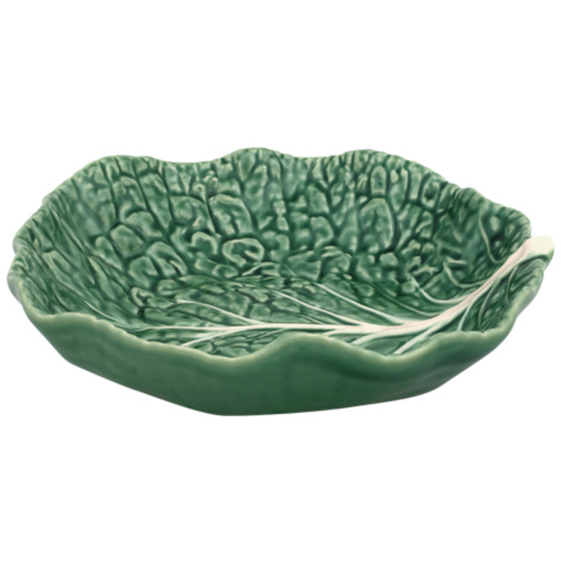 Cabbage Ware Shallow Salad Bowls