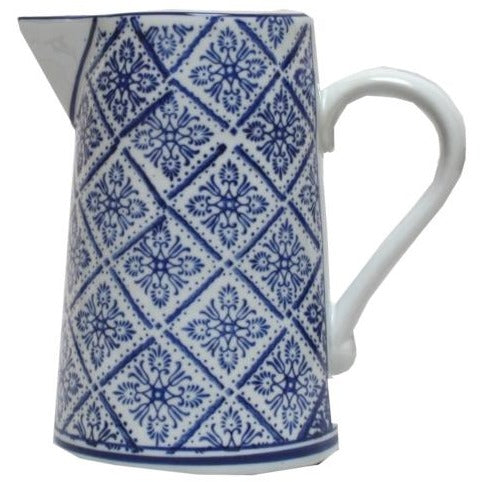 Blue and White Ming Jug