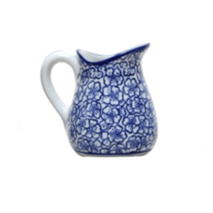 Jug Blue and White #2