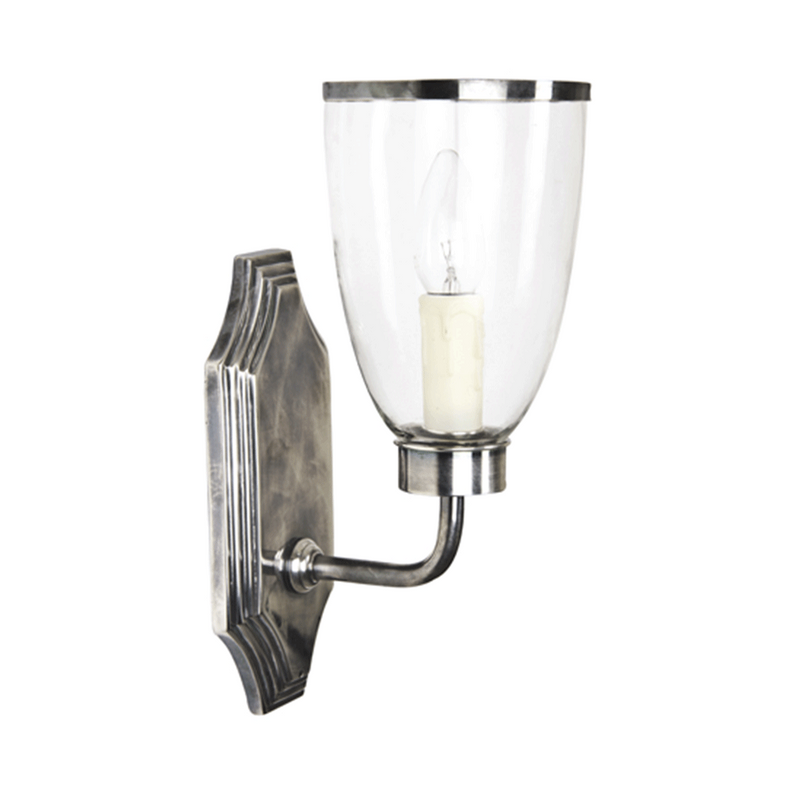 Westbrook Sconce with Glass Shade
