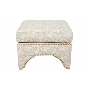 Jewel Stool - Natural Bamboo