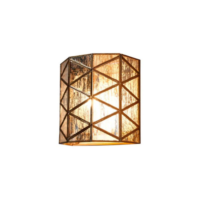 Butterworth Half Round Wall Lamp