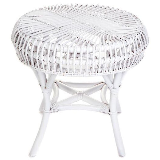 Euro Round Table Solid White