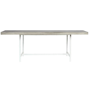 Rectangular Dining Table Concrete Top
