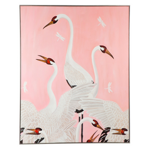 Dreaming Crane Wall Art