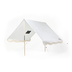 Antique White Premium Beach Tent