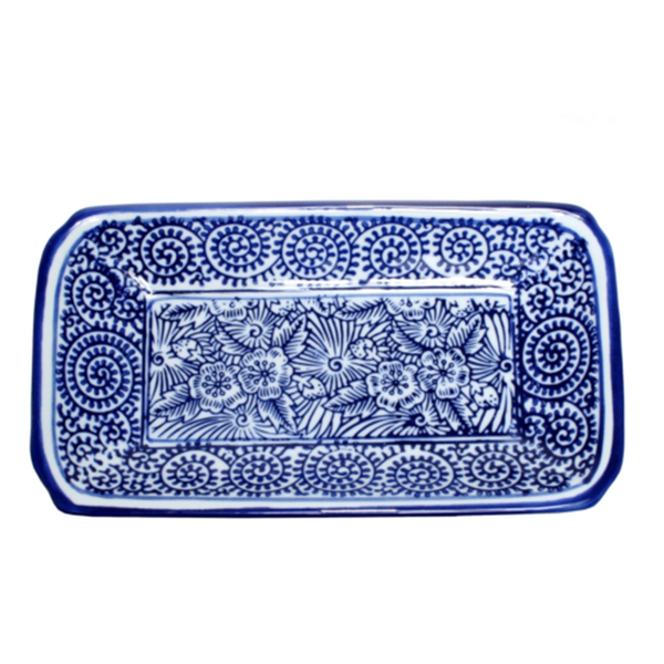 Ming Blue and White Dish #1