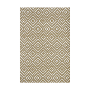 Diamond Khaki Indoor/Outdoor Rug