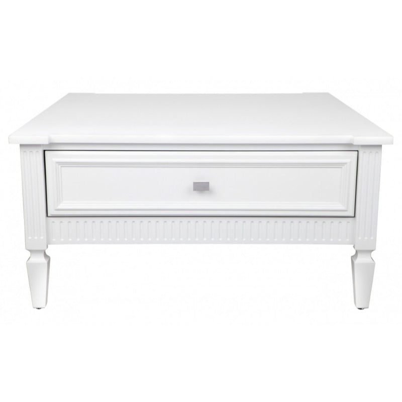 Merci Coffee Table - White