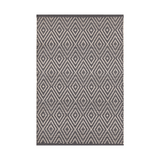 Diamond Graphite Indoor/Outdoor Rug
