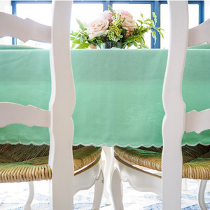 Scallop Tablecloth