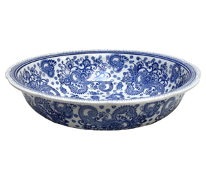 Blue & White Toile Bowl