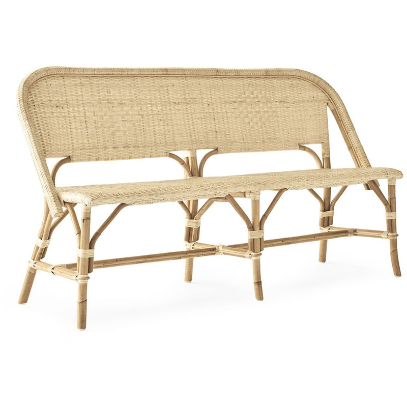 Woven Willow Bench