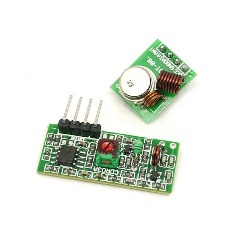 RF wireless receiver & transmitter module for Arduino