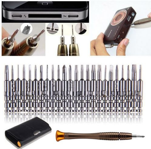 25 in 1 screwdriver set for smartphones