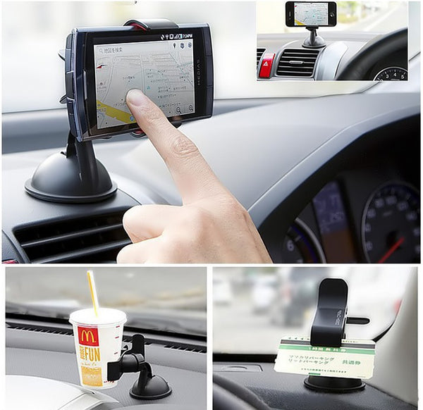 Universal Phone and Tablet windshield bracket