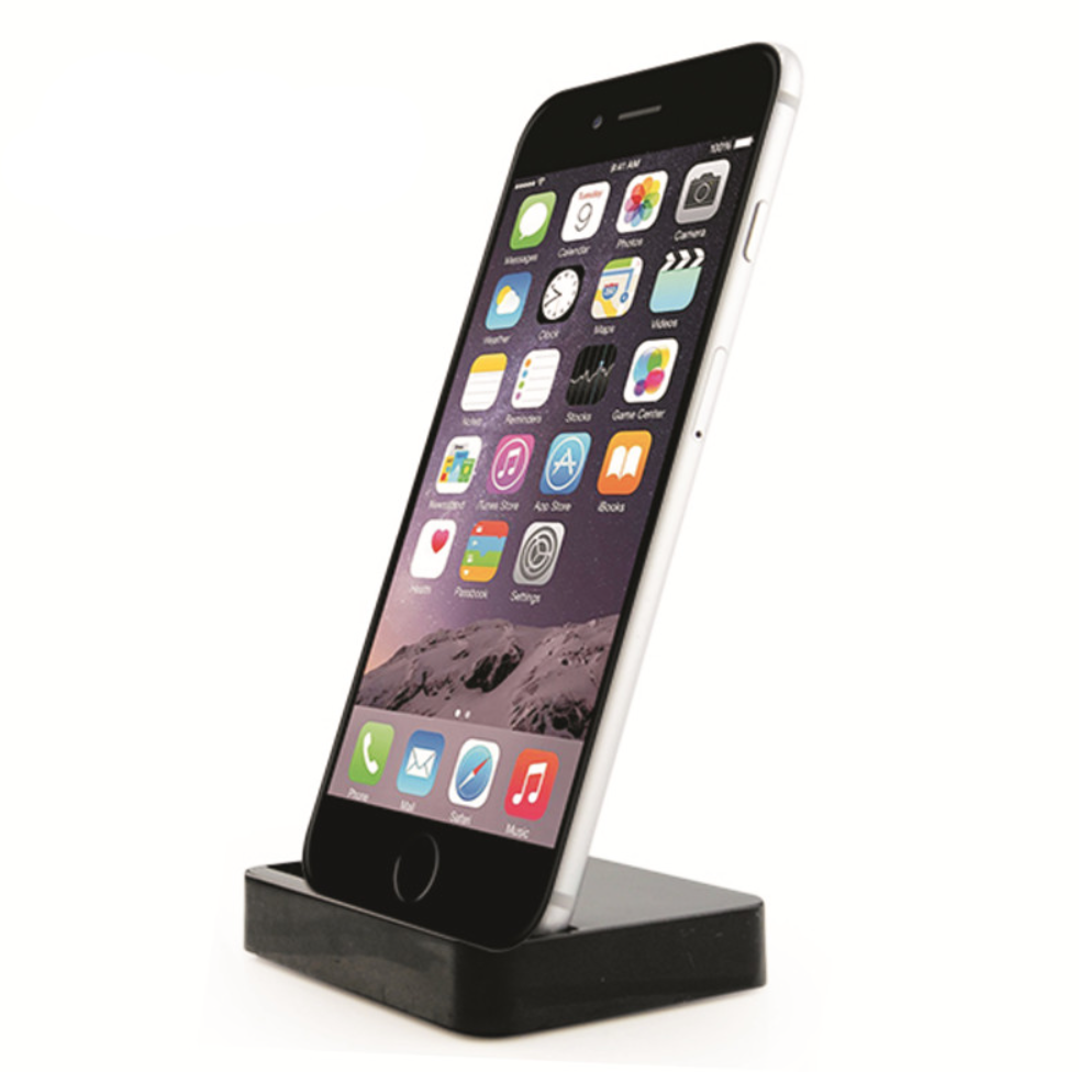 Docking cradle for iPhone 5 and 6