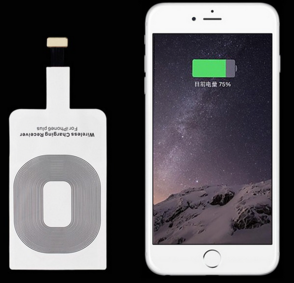 Wireless charger receiver for iPhone 6,6s, 5 and 5s