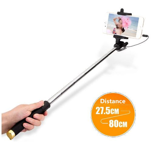 Mini selfie stick