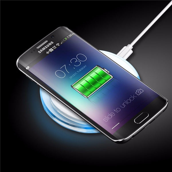 Universal wireless charger pad for smartphones
