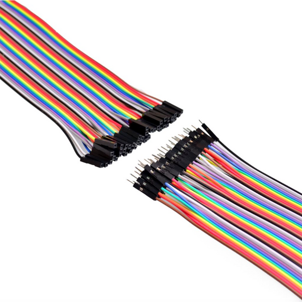 Jumper wire for Arduino. 40 in row Dupont cable 20cm female to male