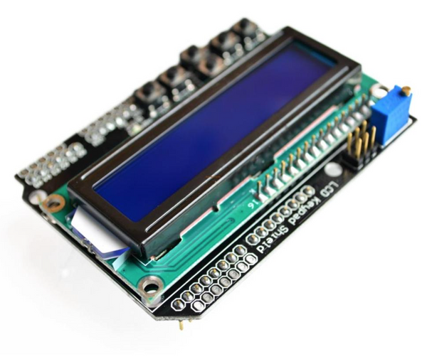 Keypad LCD shield for Arduino
