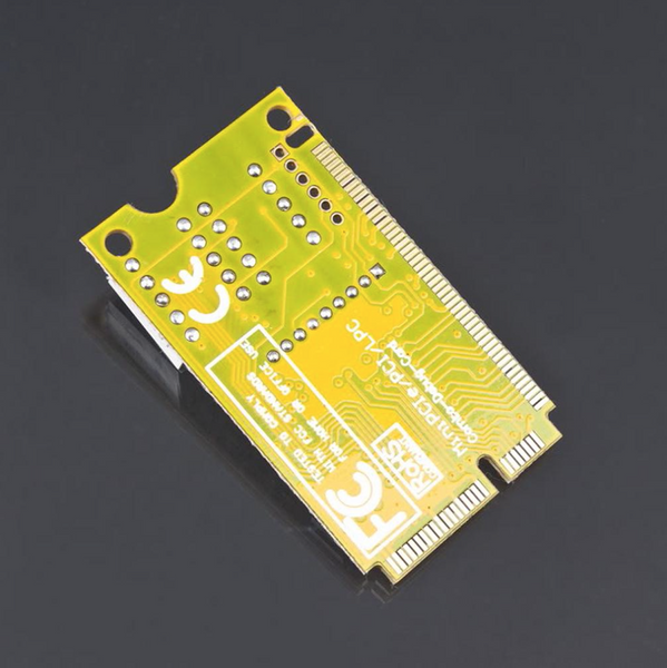 Mini PCI/PCI-E and LPC analyser card for Laptops