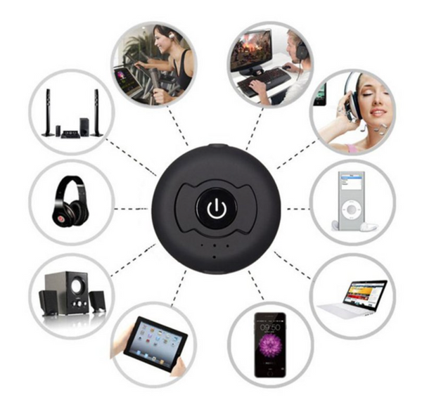 Multi-point bluetooth audio transmitter