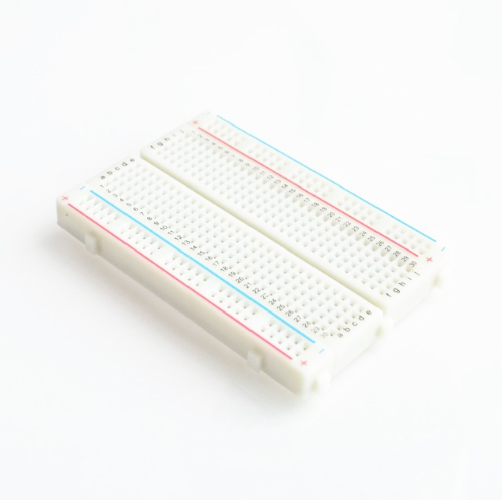 Small Solderless breadboard with 400 tie-points