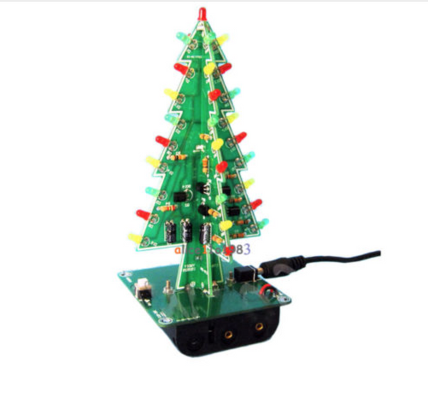 DIY 3D Christmas LED kit