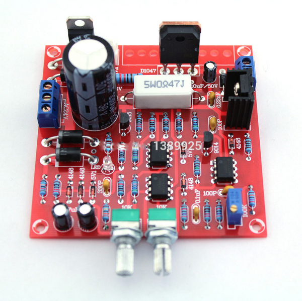 0-30V 2mA-3A DC Regulated power supply DIY
