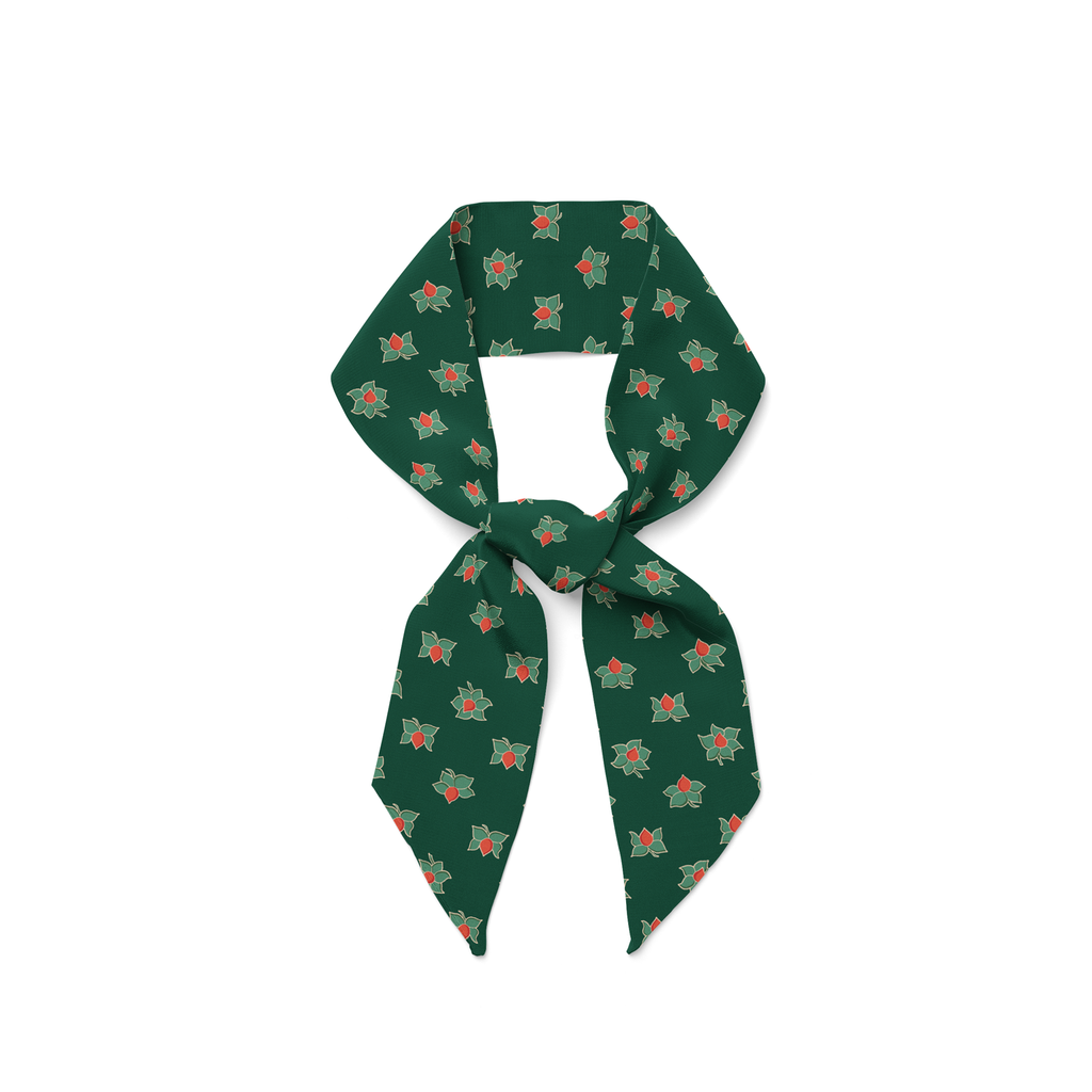 Lega Magnolia Silk Twilly (Green)