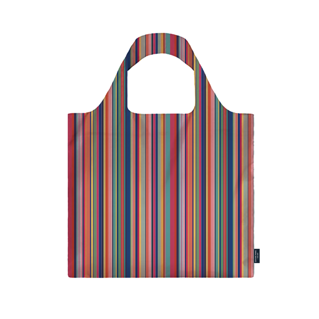 Colorful Stripes Shopping Bag