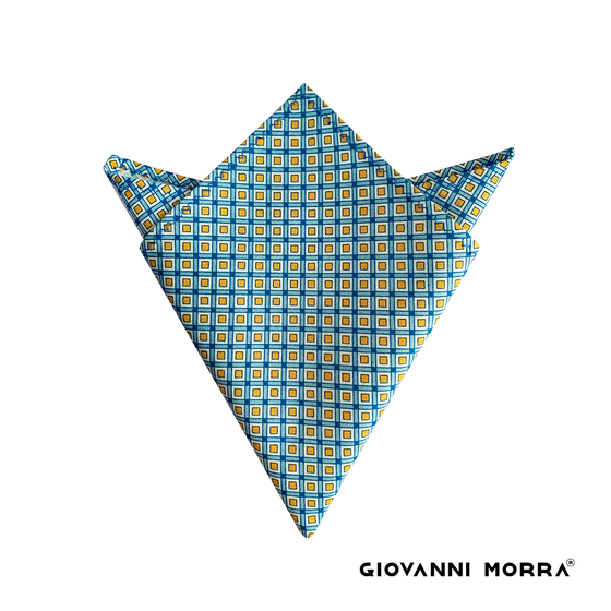 Lattice Pocket Square