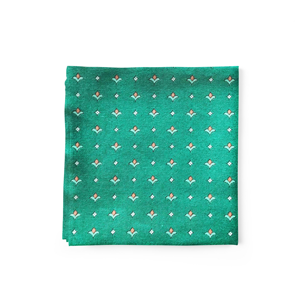 Evergreen Pocket Square
