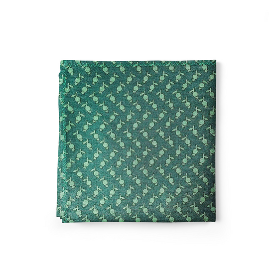 Tulips Pocket Square