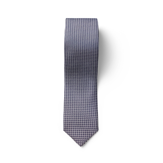 Medallion Grey Tie